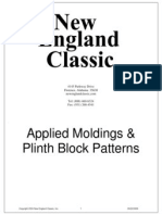 Applied Moldings and Plinth Block Patterns | New England Classic