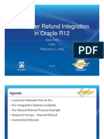 David Trch - Customer Refund Integration in Rel.12