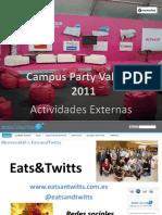 Actividades externas Campus Party