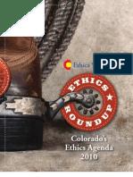 Colorado Ethics Watch - Ethics Roundup 2010