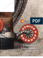 Colorado Ethics Watch - Ethics Roundup 2010