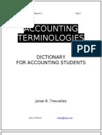 0nat Accounting Terminologies