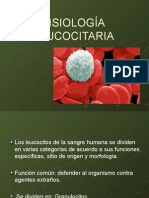 FISIOLOGÍA DE LA SANGRE. Clase 4