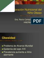 Valoración Nutricional del Niño Obeso