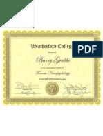 Forensic Neuropsychology Award