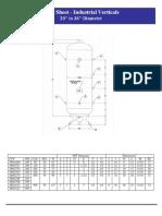 20-36 Inch Diameter Tank
