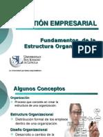 GE Sem1 - Estructura Organizacional