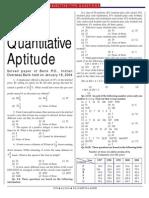 IOB_Quantitative Aptitude Paper