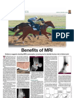 Thoroughbred Times 032511 Hallmarq Benefits of MRI Peloso