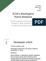 Theme Notebook Model