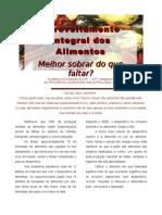Artigo 8 - to Integral Dos Alimentos