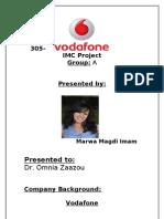 Vodafone IMC Project