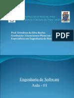 Aula-01 de Engenharia de Software UESPI 2011-1