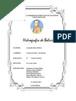 HIDROGRAFIA DE BOLIVIA