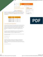 Planificacción - Tabla de especificaciones de una prueba