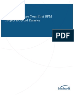 WP Structuring Your First BPM Project