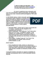 A Lei de Diretrizes e Bases da Educação Brasileira