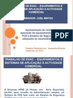 Trabalho de ESAC – Equipamentos e Sistemas de