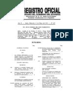 Reformas sobre revocatoria de mandato (Ecuador)