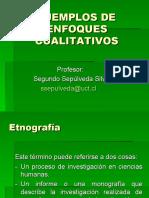 Ejemplos de Enfoques Cualitativos (1)