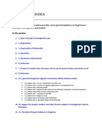 0_Guidance Index - Legal Issues Relating to Immigration and Asylum