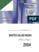 Banten Dalam Angka 2004