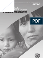 Who is Benefiting From Trade Liberalization in Bhutan? a Gender Perspective