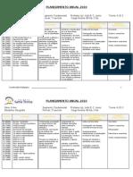 Planejamento anual 2010