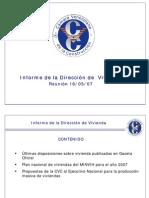 Disposiciones Sobre Vivienda Public Ad As en Gaceta Oficial
