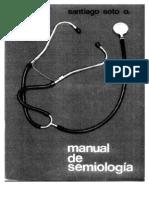 Manual de Semiología - Santiago Soto