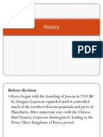 History and Culture (Korea)