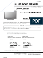 Sharp Lc-42d62u Lcd Tv Supplement