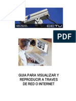 Cctv Visualizacion de Camaras Por Red Internet