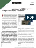 0A Mosaico de Imagens No Gvsig 1 9 Geoprocessamento Para Linux