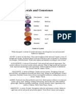 Guide to Crystals and Gemstones
