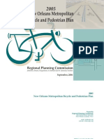 2005 New Orleans Metropolitan Bicycle and Pedestrian Plan