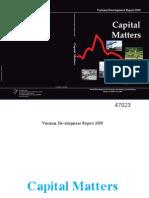 WB Report 2009 - Vietnam_s Capital Matters