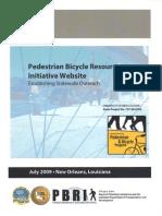 Pedestrian Bicycle Resource Initiative Website