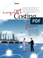 Export Costing