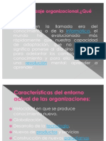 El aprendizaje organizacional