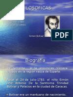Ideas Filosoficas de Simon Bolivar