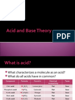 Acid and Base Theory Part 1