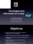 Clase Tecnologías de la informacion en investigación