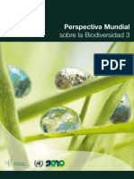 Informe 3 sobre biodiversidad