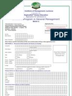 Application Form EPGM