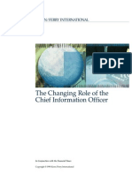 Changing Role of the CIO Study