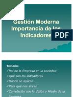 Gestion Moderna - Import an CIA de Los Indicadores