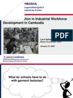 Cambodia Garment Industry WFA Presentation to Educators
