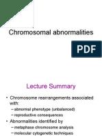 aberatii cromozomiale