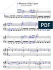Phantom of the Opera Int Sheet Music